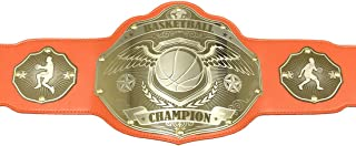 Basketball Championship Belt Trophy - Winged Ball