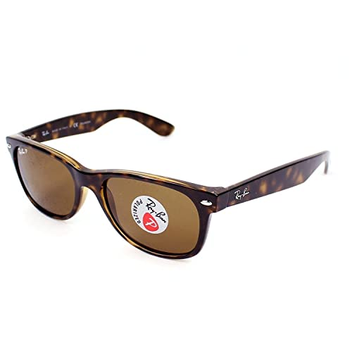 ccc47860498 Ray-Ban RB 2132 902 57 55mm New Wayfarer Tortoise w  Brown Polarized