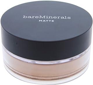 bareMinerals Matte Foundation SPF 15 for Women Warm Dark, 0.21 Ounce