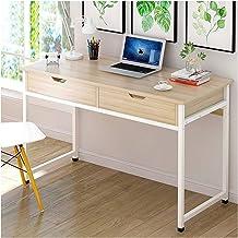LJBH Desktop Computer Desk With Drawer Writing Desk Computer desk, desk, durable and practical (Size : E)