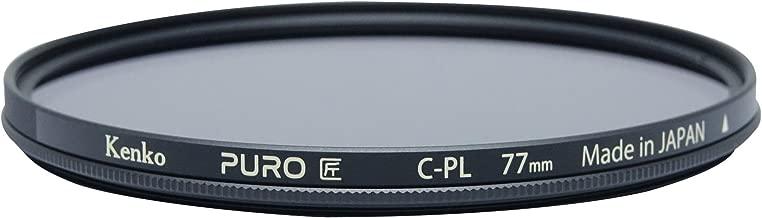 Kenko Puro Wide Angle Slim Ring 77mm multi-Coated Circular Polarizer Filter, Neutral Grey (227759)