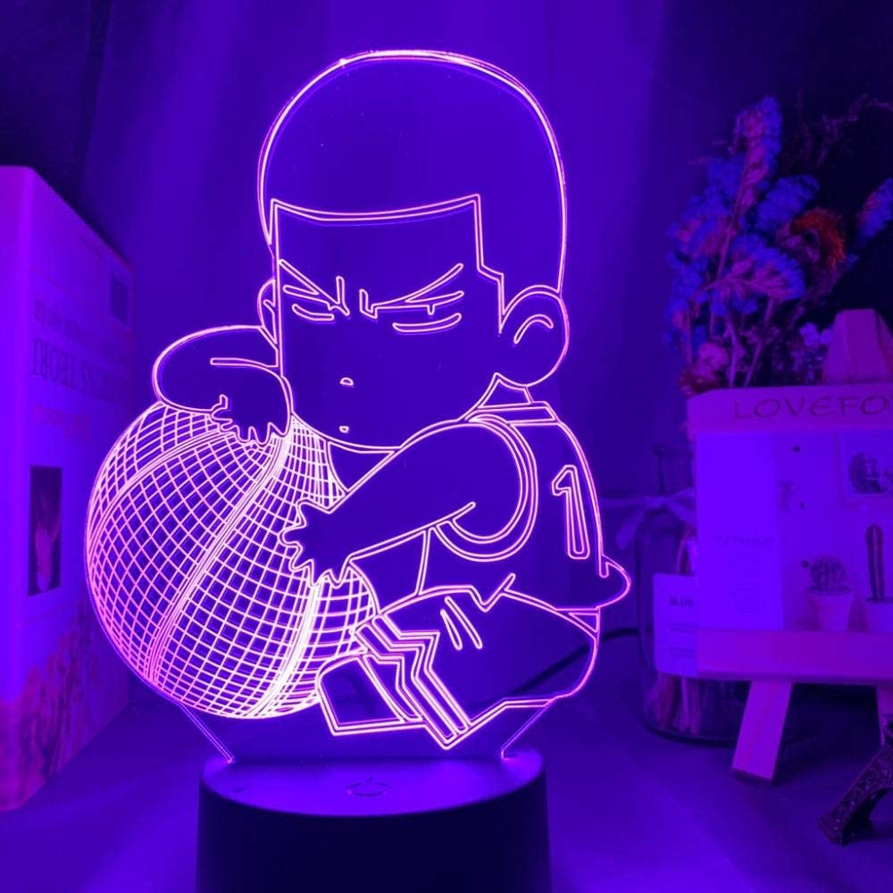 3D Night Light for Boys Anime Figur Sakuragi service Gorgeous Hanamichi SLAM Dunk