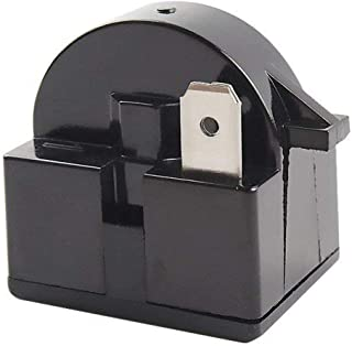 QP2-4R7 4.7Ohm 1Pin Refrigerator PTC Starter Relay (1Pack/Black)