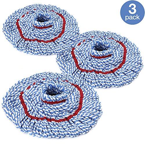 O-Cedar MicroTwist Microfiber Twist Mop Refill (Pack of 3)