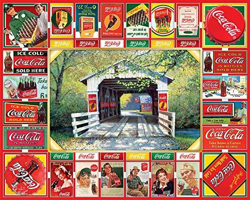 Springbok 1000 Piece Jigsaw Puzzle Coca Cola Gameboard