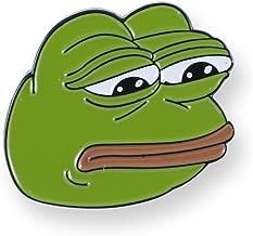 Forge Internet Meme Lapel Pins (Sad Pepe)