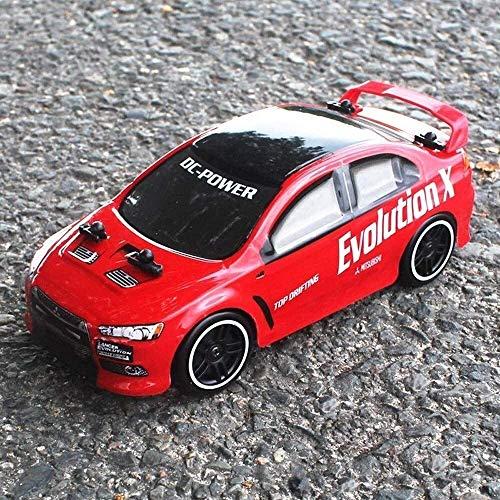 WGFGXQ RC Sports Racing Car 2.4G Control Remoto Coche Policía Drifting Race Modelo Regalos para niños Niñas Juego Interior al Aire Libre Cumpleaños Navidad