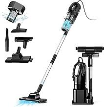 oneday Corded Handheld Stick Vacuum Cleaner 6 in 1 Lightweight Upright Stick Vacuum Cleaners Pro-cyclone with HEPA Filtrat...