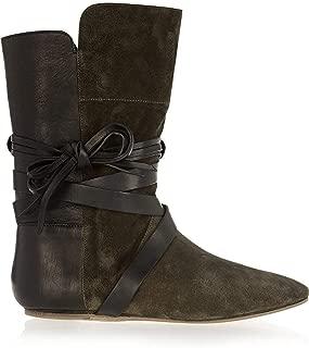 Nira Olive Green Boots 36