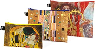 LOQI MUSEUM Zip Pockets - Klimt