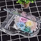 Fleurs artificielles exquis Creative artisanale Roses That Never Fade Away Eternal Love Never Symboliser flétrissement vrai Roses (Couleur: Multicolore, Taille: Taille libre) ggsm