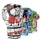Sanabul Sticker Bomb Kids Boxing Kickboxing Training Gloves (4 OZ, Manga Action)