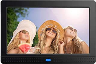 Digital Photo Frame,PowerDoF 7 Inch Widescreen Digital Picture Frame with High Resolution IPS Display Motion Sensor and Remote Control