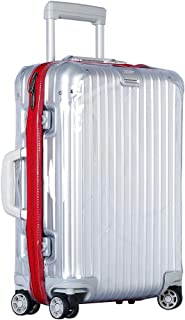 Luggage Cover Protector Clear PVC Suitcase Protective Case with Zipper for Topas or Supreme Rimowa