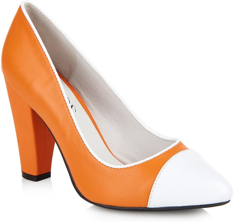Yull schuhe Beaulieu Orange Orange Orange Weiss  5b8467