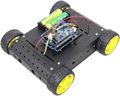 perfüroboter Chassis Plattform fürgestell Bausatz für Arduino Raspberry Pi DIY Kennenlernen, Entwicklung Kinder Hand und Gehirn F gkeiten - 1 120TT Motor mit WiFi