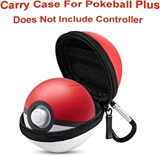 Pokeball Plus Case RuiM Carry Case Compatible Pokémon Lets Go Pikachu Eevee Game Controller, Accessory Bag for for Nintendo Pokeball Plus Switch Accessories