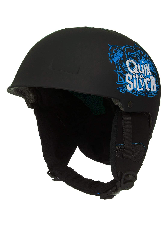 Quiksilver Jungen Empire-Snowboard-/Skihelm, Black, 52