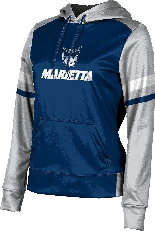ProSphere Marietta College Girls' Pullover Hoodie, School Spirit Sweatshirt (Old School)