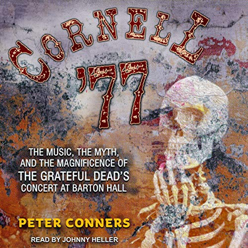 Cornell '77 audiobook cover art