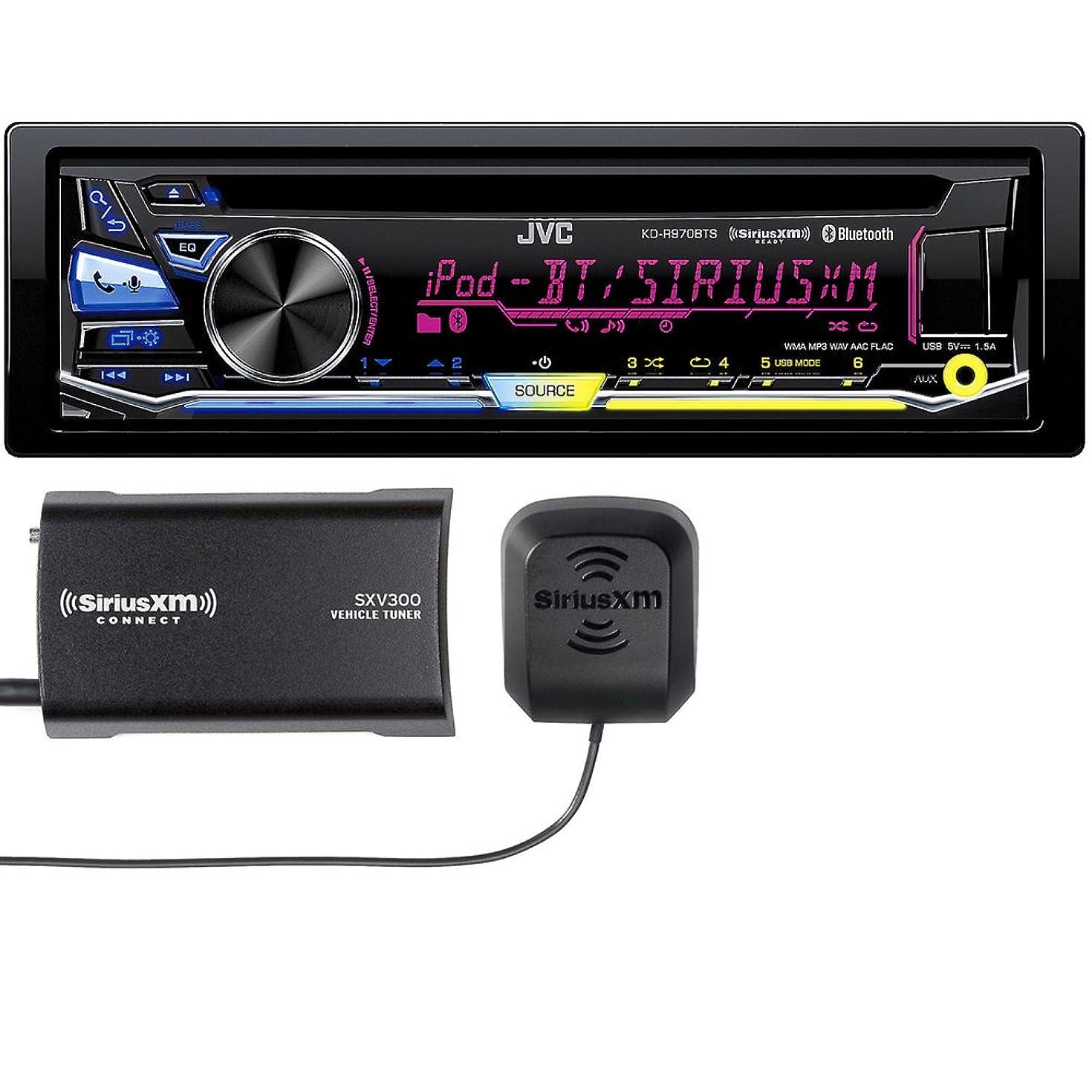 JVC KD-R970BTS CD with SXV300 Sirius XM Tuner