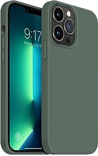 OUXUL Compatible with iPhone 13 Pro Max Case, Soft Liquid...