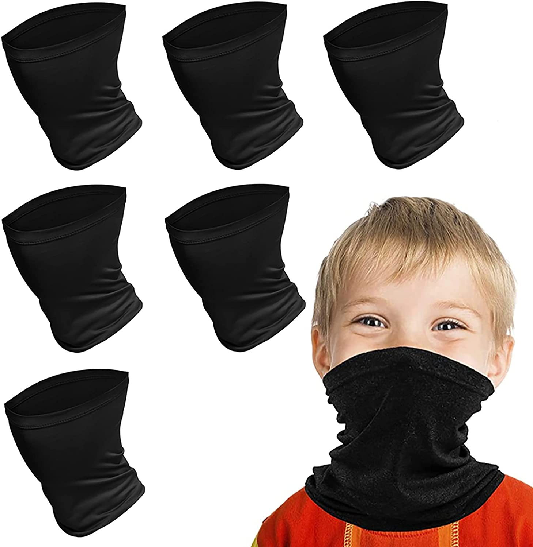 Kids Face Scarf Mask, 6-14 Years Kids Cooling Neck Gaiter...