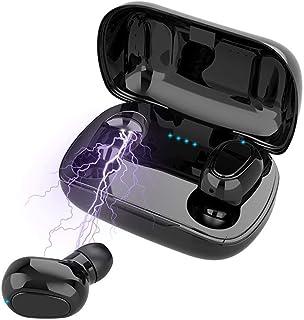 comprar comparacion Auriculares Inalámbricos Bluetooth 5.0, Inalámbricos In-Ear Auriculares,Cancelación de Ruido Auriculares con Deep Bass Min...