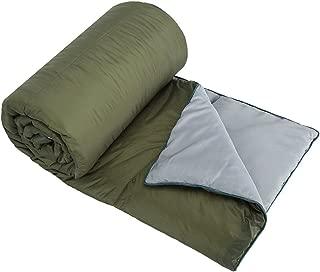 OneTigris Grey Leaf Outdoor Camping Blanket, Windproof & Ripstop, 32.5oz