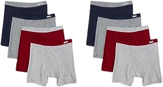 ملابس داخلية رجالي من فروت أوف ذا لوم، 8 قطع، متنوعة ومريحة وناعمة الملاكم