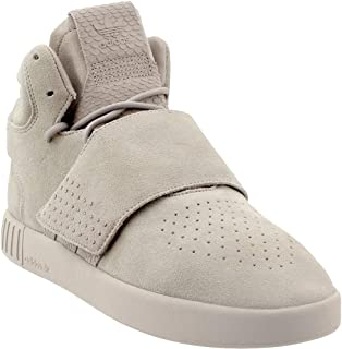 adidas Originals Womens BB8392 Tubular Invader Strap Grey Size: 5.5
