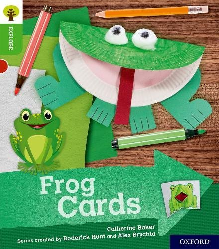 Oxford Reading Tree Explore with Biff, Chip and Kipper: Oxford Level 2: Frog Cardsの詳細を見る