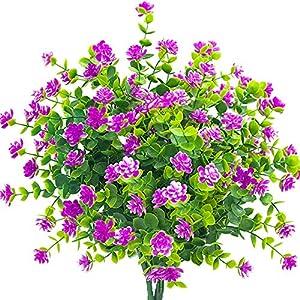 AITISOR Artificial Outdoors Eucalyptus Flowers