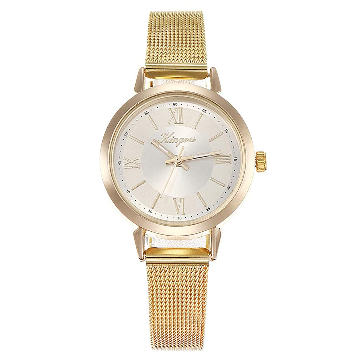 LUCAMORE Watches for Women,Mesh Stainless Steel Ladies Wristwatch,Casual Women Quartz Watches Gifts for Women