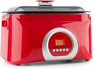 comprar comparacion Oneconcept Sanssouci Olla Lenta de cocción al vacío (5 L, 300 W, cocción a Baja Temperatura Entre 40 y 99 °C, Recipiente A...