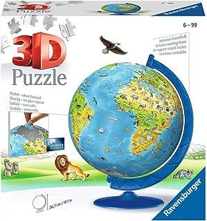 Ravensburger 12338 - Children's Globe 3D Puzzleball 180pc Jigsaw Puzzle