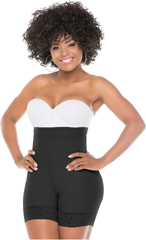 Salome 0218 High Waist Compression Shapewear Tummy Control BBL Shorts Fajas Colombianas para women Levanta Cola