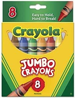 Crayola Bulk Buy (3-Pack) Jumbo Crayons 8 Pack 52-0389