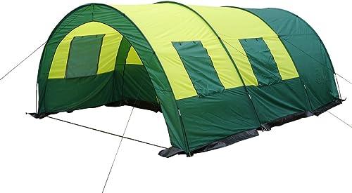 764696 Tunnenlzelt tente de camping familiale avec tente de camping