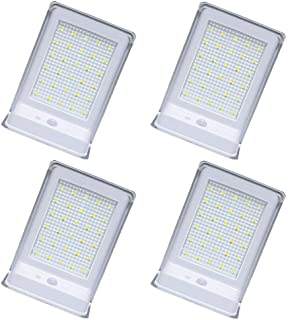 Solar Powered Wall Lights Outdoor, 30LED 4 Pack Solar Motion Sensor Lights Wireless Security Waterproof Automatic Lighting...