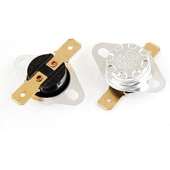 2/Pcs KSD301/180/C normal Ferm/é C/éramique Thermostat Interrupteur