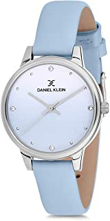 Daniel Klein Womens Quartz Watch, Analog Display and Leather Strap DK12201-6
