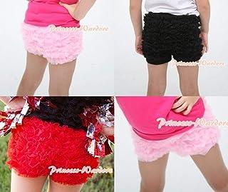 New Pettipants Petti Lace Ruffle Bloomer Pantie Pants Short Girl Size 1-8 Year