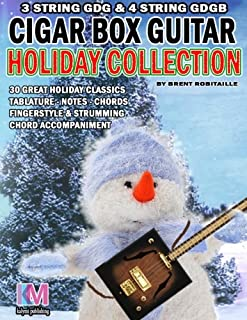Cigar Box Guitar - Holiday Collection: 3 & 4 String Cigar Box Guitar