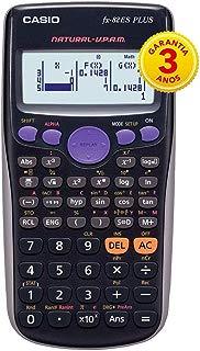Calculadora Científica 252 Funções, Casio, 54117, Preto