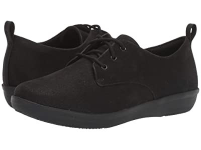 Clarks Ayla Reece (Black Synthetic Nubuck) Women