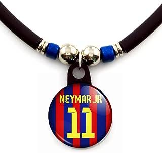 SpotlightJewels Neymar Jr Barcelona 2013/14 Soccer Jersey Necklace