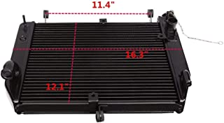 Motorcycle Radiator Cooler Aluminum For Yamaha Yzf R1 Yzf-R1 Yzfr1 2002-2003 New