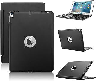 KVAGO iPad pro 10.5 キーボードケース ワイヤレスbluetoothキーボード アルミ合金製7色バックライト付き スタンド オートスリープ機能iPad キーボード10.5インチ iPad 10.5 2019 Air 3 ケース
