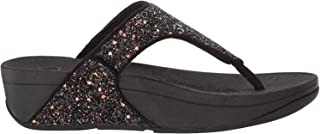 FITFLOP Lulu Glitter Toe-Thongs, Women's Thong Sandals